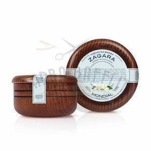 Mondial Crema da Barba Ciotola Legno Zagara 150 ml