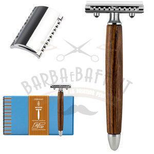 Fatip Rasoio Wood Zebrano Testina Gentile PC 42133