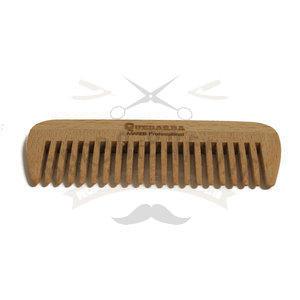 Pettine Legno per barba senza manico Quebarba