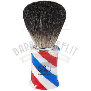 Pennello Barba Tasso Pure Badger Manico Barber Omega 6736
