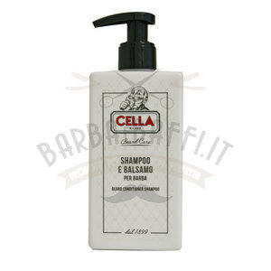 Shampoo e Balsamo per Barba Cella 200 ml.