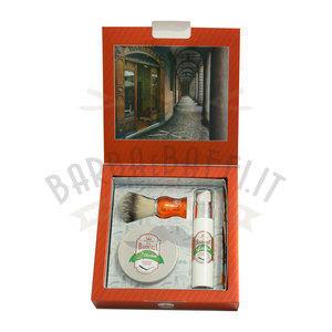 Via Barberia Herbae Set Regalo Pennello+Crema Barba+Fluido Dopobarba
