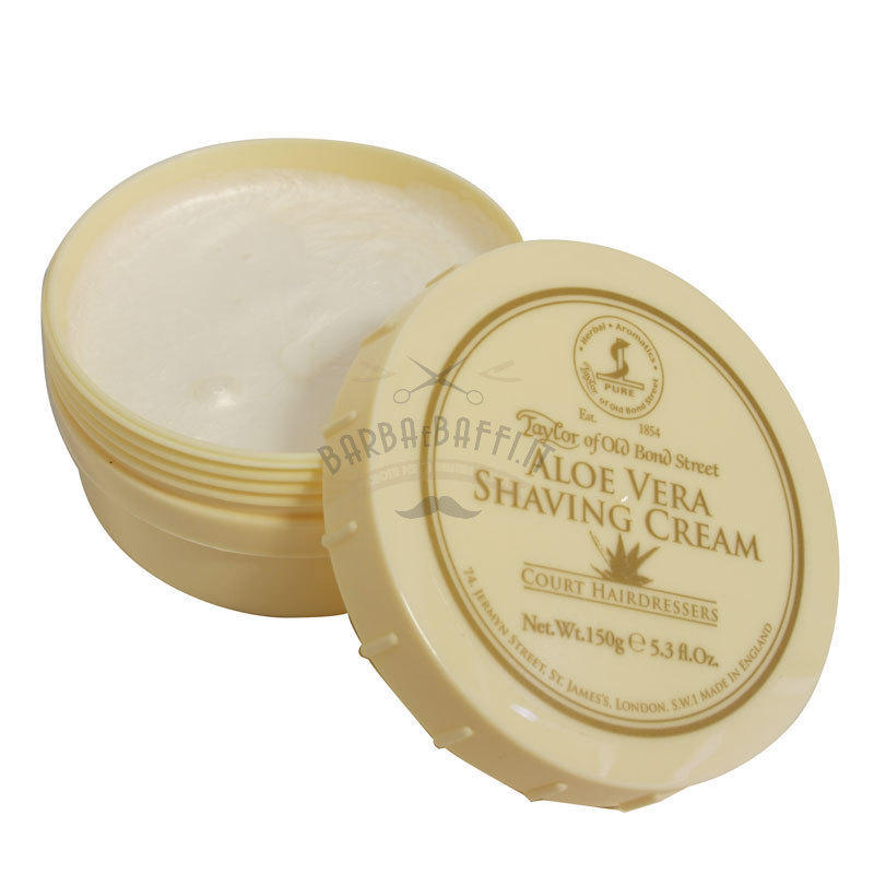 Crema da Barba Aloe Vera Taylor ciotola 150 ml.