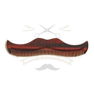 Pettine per Baffi Moustache Amber