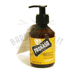 Proraso Shampoo Barba Wood and Spice 200ml