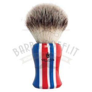 Pennello da Barba Vie Long American Style Setole Sintetiche Extra Soft