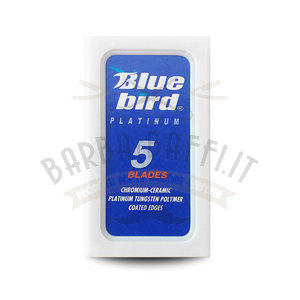 Lamette da Barba Derby Blue Bird Platinum 1 Pc da 5 Pz.