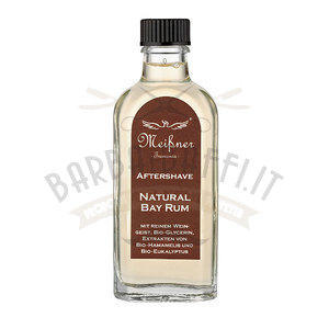 After Shave Liquido Bio Meissner Fragranza Natural Bay Rum 100 ml