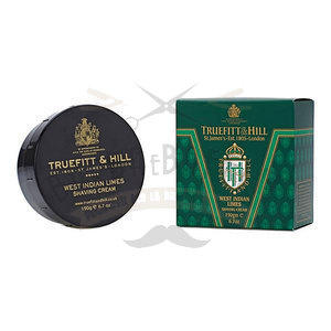 Crema da Barba in Ciotola West Indian Limes Truefitt & Hill 190 gr