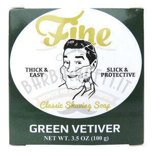 Sapone da barba Green Vetiver Fine 100 gr.