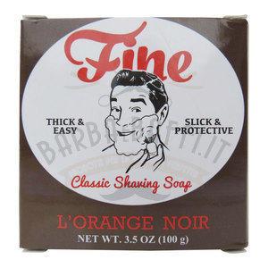 Sapone da barba L'orange Noir Fine 100 gr.