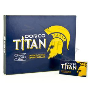 Stecca Lamette da Barba Dorco Titan 10 Pc. da 10 Lame