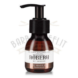 Pre Shave Oil Noberu Sandalwood 60 ml