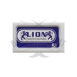 Lamette da Barba Lion Platinum 1Pc. da 5 Lame