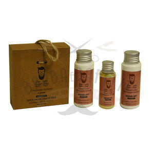 Kit Colorazione barba n° 4 Latino Beard Color 60 + 60 + 30 ml.