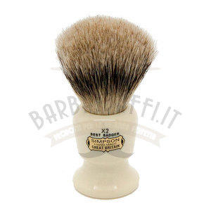 Pennello da Barba Commodore X2 Best Badger Simpsons