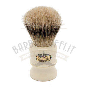 Pennello da Barba Duke 3 Syntetic Badger Simpsons