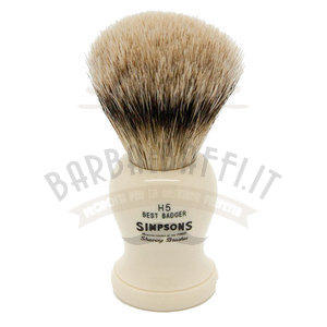 Pennello da Barba Harvard H5 Best Badger Simpsons Pennelli da barba Simpsons