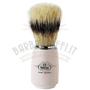 Pennello da barba in pura setola – effetto tasso Omega 11711