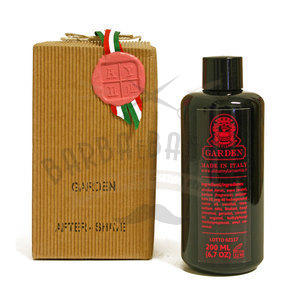 After Shave Garden in Bottiglia di Vetro Abbate Y La Mantia 200 ml