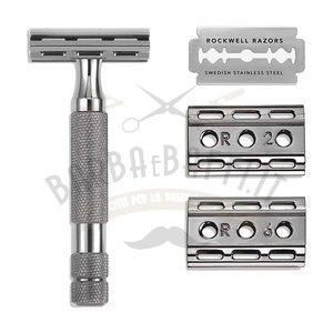 Rasoio di Sicurezza Gunmetal Classic 6C Rockwell Razors