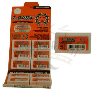 Stecca Lamette da Barba Lamix Platinum Plus 10 Pc da 5 Pz.