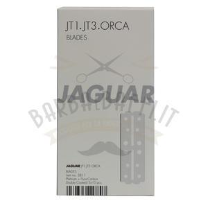 Lama Jaguar Lunga per rasoio ORCA - JT1 - JT3  stecca 5 pc. da 10 lame cad.