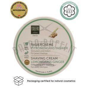 Shaving Cream Lemongrass e Ginger Esbjerg 150 gr. Creme da barba Esbjerg