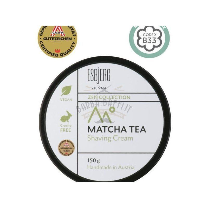 Shaving Cream Matcha Tea ZEN Collection Esbjerg 150 gr.