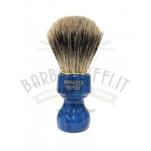 Pennello Barba Profess. Best Badger Manico Blu Cobalto Zenith 506BC