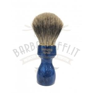Pennello Barba Manico Cobalto Best Badger Zenith 507BC