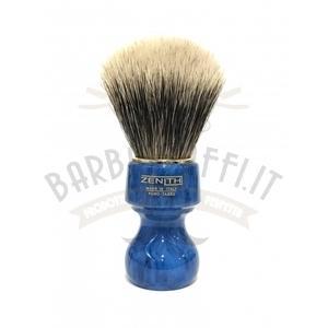 Pennello Barba Manico Cobalto Ciuffo Manchurian Zenith 506B