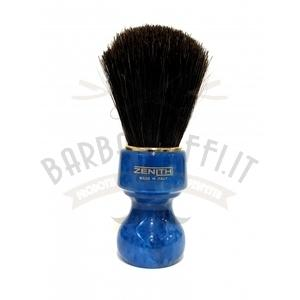 Pennello Barba Profess. Setola Cavallo Manico Blu Cobalto Zenith 506BC