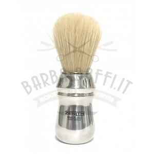 Pennello Barba Manico Alluminio Ciuffo Setola Zenith A26