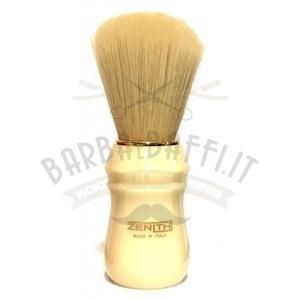 Pennello Barba Professionale Syntetic Manico Plastica Avorio Zenith 80EPS