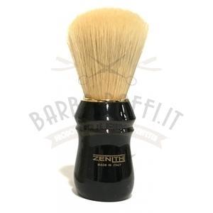 Pennello Barba Professionale Syntetic Manico Plastica Nero Zenith 80EPS