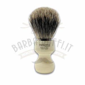 Pennello Barba Manico Avorio Ciuffo Best Badger Zenith 506A PP21