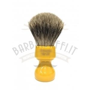 Pennello Barba Manico Butterscotch Ciuffo Best Badger Zenith 506B