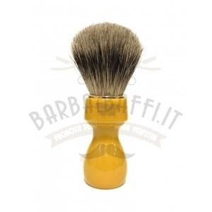 Pennello Barba Manico Butterscotch Ciuffo Best Badger Zenith 507B