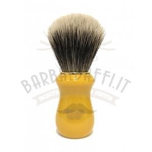 Pennello Barba Manico Butterscotch Oro Ciuffo Manchurian Zenith 502BK
