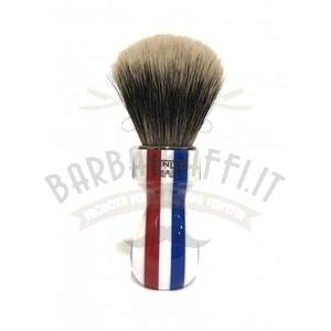 Pennello Barba Manico Barber Pole Ciuffo Manchurian Zenith 507BP