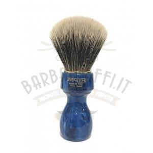Pennello Barba Manico Manico Cobalto Oro Ciuffo Manchurian Zenith 507BC