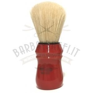 Pennello Barba Manico Rosso Ciuffo Pure Bristle Zenith NEW 80E