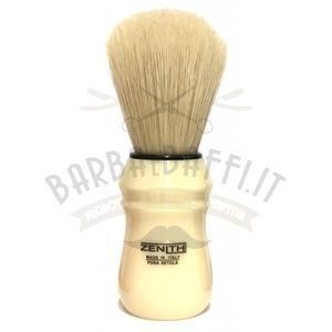 Pennello Barba Manico Avorio Ciuffo Pure Bristle Zenith 80B SE