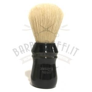 Pennello Barba Manico Nero Ciuffo Pure Bristle Zenith 80E