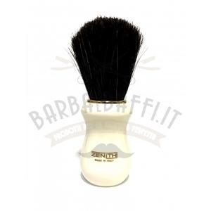 Pennello Barba Manico Avorio oro Ciuffo Setola Cavallo Zenith 502A