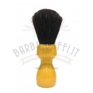 Pennello Barba Manico Butterscotch Setola Cavallo Zenith 507B