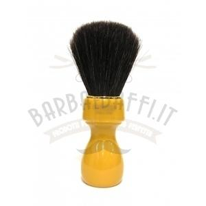 Pennello Barba Manico Butterscotch Ciuffo cavallo Soft Zenith 507B