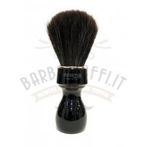 Pennello Barba Manico Nero Nic Ciuffo Cavallo Soft Zenith 507N