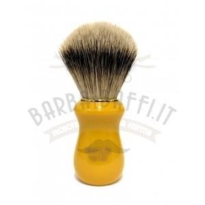 Pennello Barba Manico Butterscotch Oro Ciuffo Silvertip Zenith 502BK